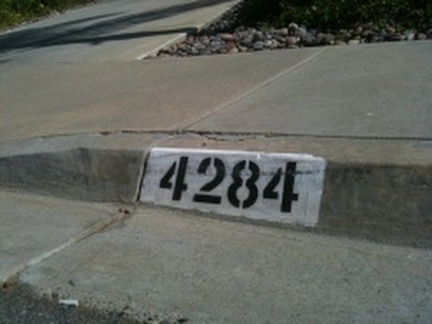 address curb